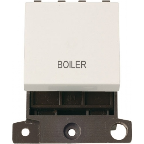 Click MD022PWWD 20A DP Switch - Polar White - Waste Disposal