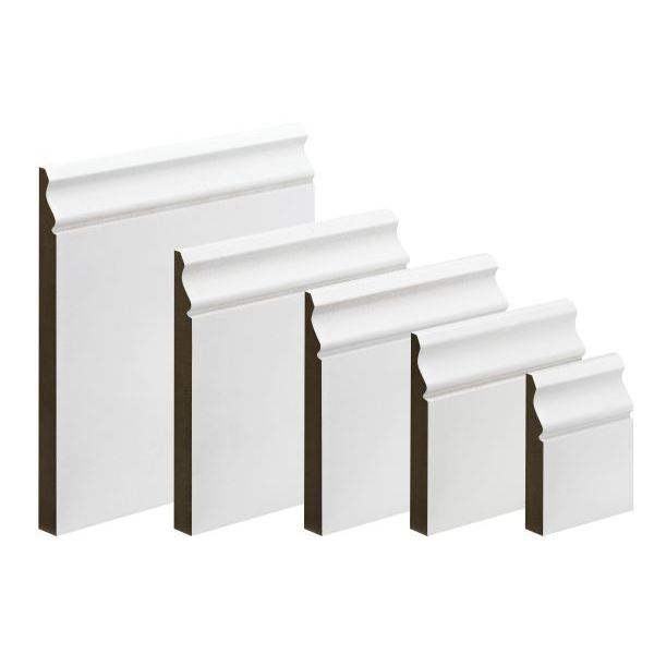 MDF Primed Ogee Skirting 18 x 144mm x 4.4m