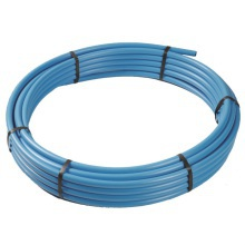 MDPE Pipe 12bar 25m Coil Blue 20mm