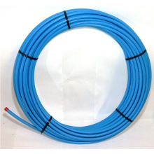 MDPE Pipe 12bar 25m Coil Blue 25mm