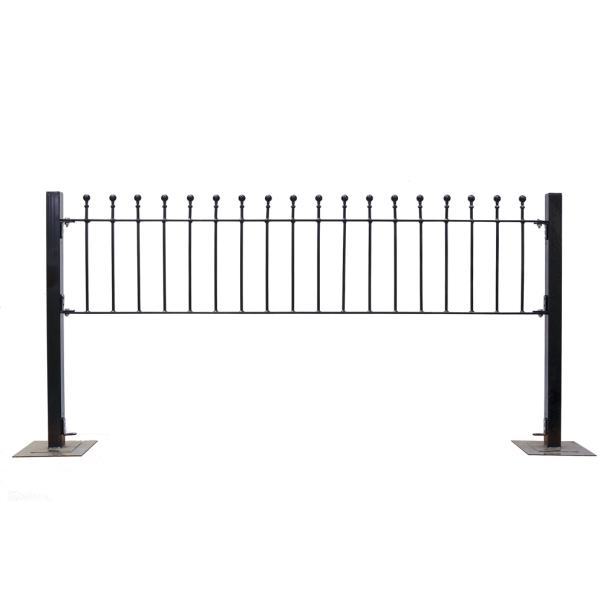Metpost Wenlock Ball Top Rail 450x1810x25mm