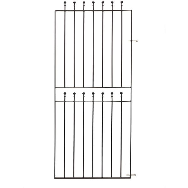 Metpost Wenlock Ball Top Tall Gate 1800x810mm