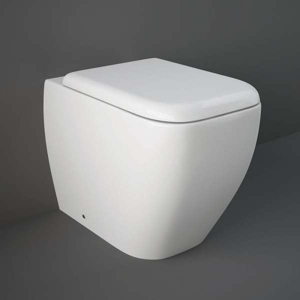 Metropolitan Back To Wall Pan with Soft Close Toilet Seat 400mm