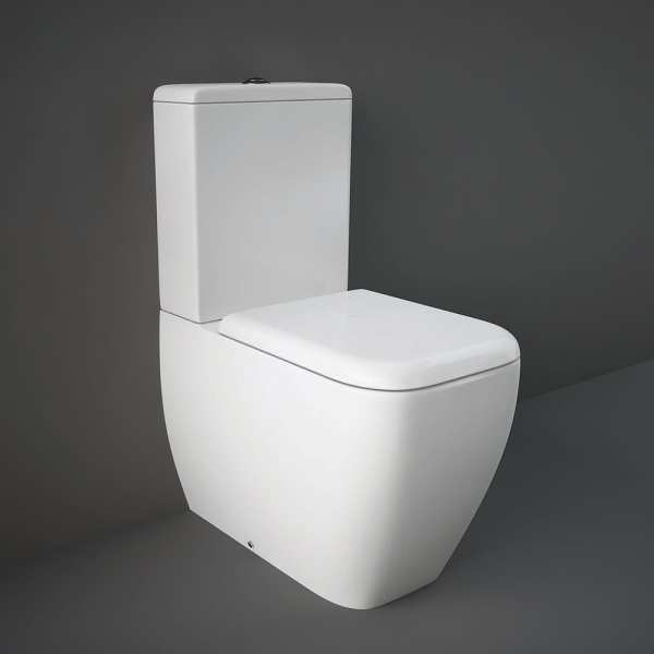 Metropolitan Back To Wall Pan with Soft Close Toilet Seat 800mm