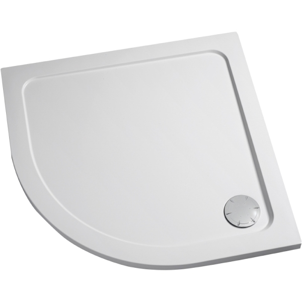 Mira Flight Quadrant Low Shower Tray 1200mm x 900mm Right Handed White