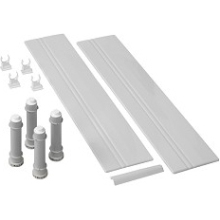 Mira Flight Quadrant Riser Conversion Kit 900mm White