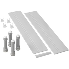 Mira Flight Rectangle Riser Conversion Kit 1200mm White