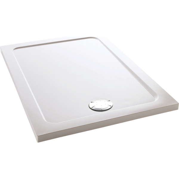 Mira Flight Safe Rectangular 1600 x 700mm White