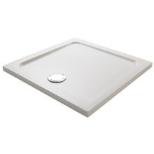 Mira Flight Safe Square Low Shower Tray