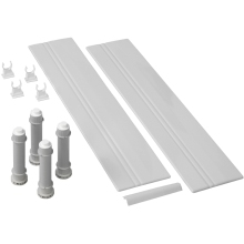 Mira Flight Square Riser Conversion Kit 900mm White
