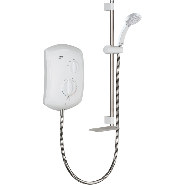Mira Jump Multi Fit 8.5kW Shower Wh/Ch