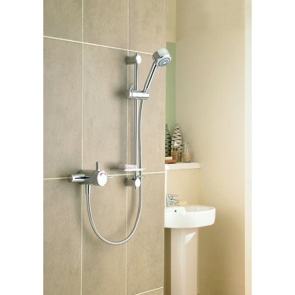 Mira Select Thermoststic Mixer Shower Exposed Valve Chrome