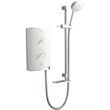 Mira Sport Electric Shower White / Chrome