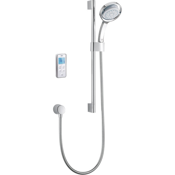 Mira Vision High Pressure Digital Mixer Rear Fed Shower Chrome