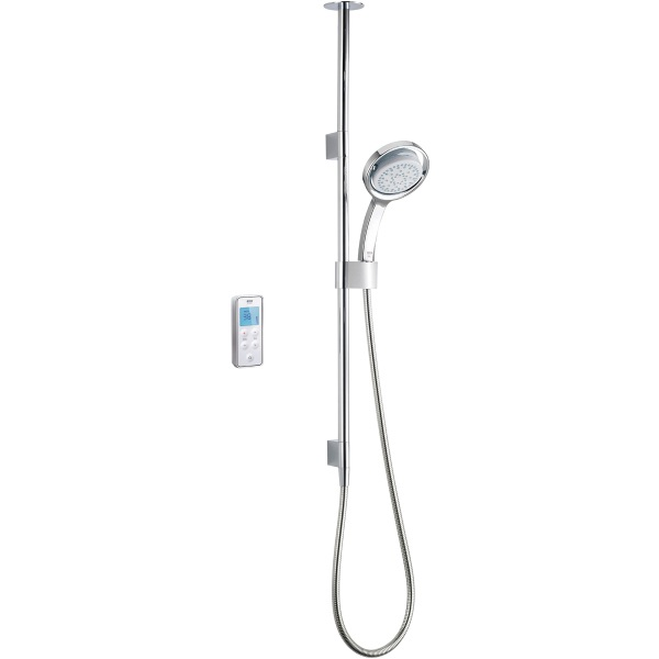 Mira Vision Pumped Mixer Shower Ceiling Fed Chrome