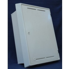 Mitras Gas Meter Box Built-In White Including Cap