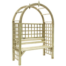 Montebello Wooden Arbour 2138x1420x600mm
