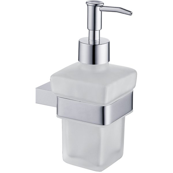 Moon Soap Dispenser Chrome