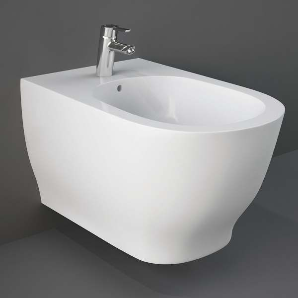 Moon Wall Hung Rimless Bidet Hidden Fixation