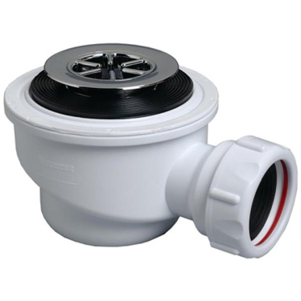 multikwik s5040c 40mm compact chrome shower trap