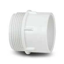MUPVC Waste Male BSP Connector White 40mm