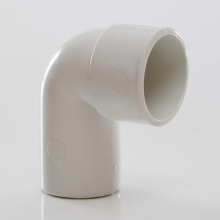 MUPVC Wastepipe Conversion Bend 90 White