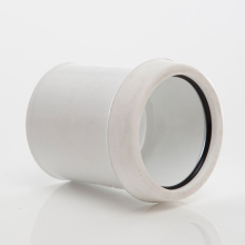 MUPVC Wastepipe Expansion Coupler White 50mm