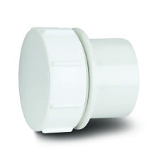 MUPVC Wastepipe Screwed Access Plug White 40mm