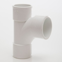 MUPVC Wastepipe Swept Tee 92.5 White 32mm