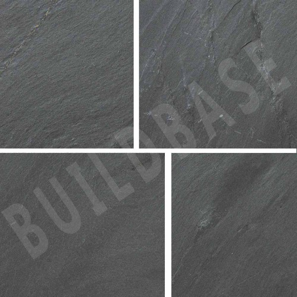 Natural Slate Blue Black 600x300