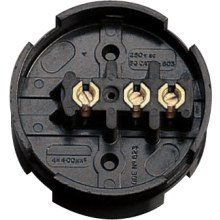 Nexus Junction Box Brown 3-Way 30A 89mm Diameter