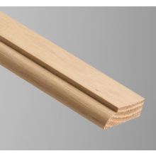 Oak Door Stop 34x12mm 2.4mtr OM020   (Each)