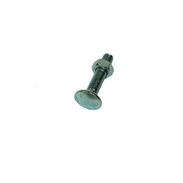 OJ Cup Sq Hex Carriage Bolt  4.8 DIN 603/555 BZP - M10x65