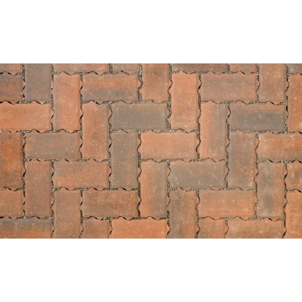 Omega Flow Permeable Block Paving Brindle