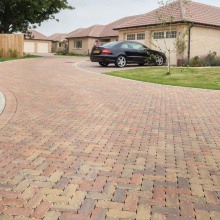 Omega Flow Permeable Block Paving Pack in Various Colours