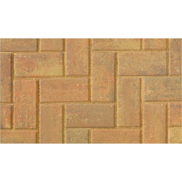 Brett Omega Paving 200x100x60mm Autumn Gold