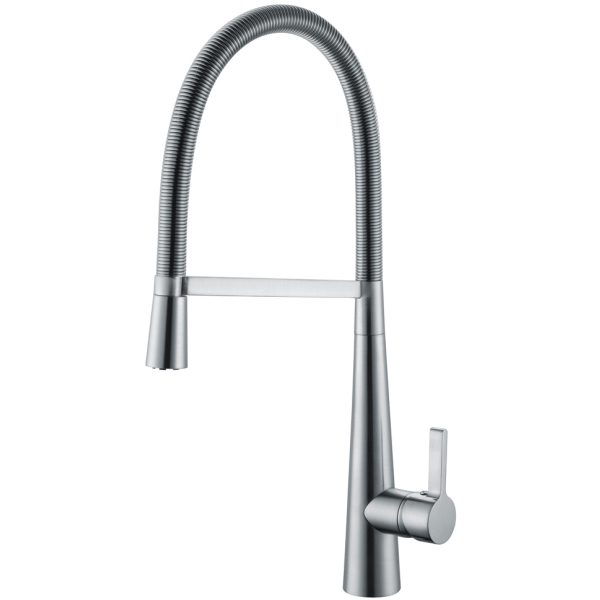 Oslo Pull Out Side Lever Kitchen Sink Mixer