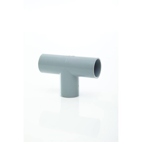 Overflow Pipe Tee White 21.5mm