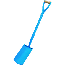 OX Tools Solid Forged Treaded Digging Spade