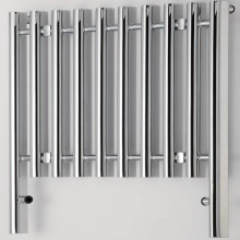 Parthenon Radiator 800x800 Chrome