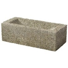 PDE 65mm Concrete Common Frogged Brick