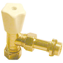 Pegler Mistral 15mm Rad Valve Nickel M2