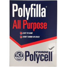 Polycell Trade All Purpose Polyfilla 2kg Box