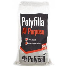 Polycell Trade All Purpose Polyfilla 5kg Sack
