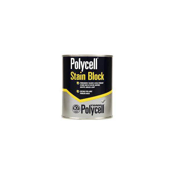 Polycell Trade Liquid Stain Block 1ltr