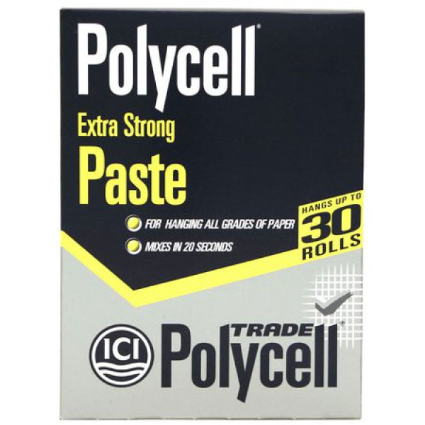 Polycell Trade Polycell Extra Strong Paste 30 Roll