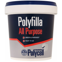 Polycell Trade Polyfilla All Purpose Readymix 1kg