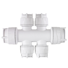 Polyfit 4 Port Double Sided Manifolds Socket 22mm