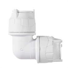 Polyfit Elbow White 10mm