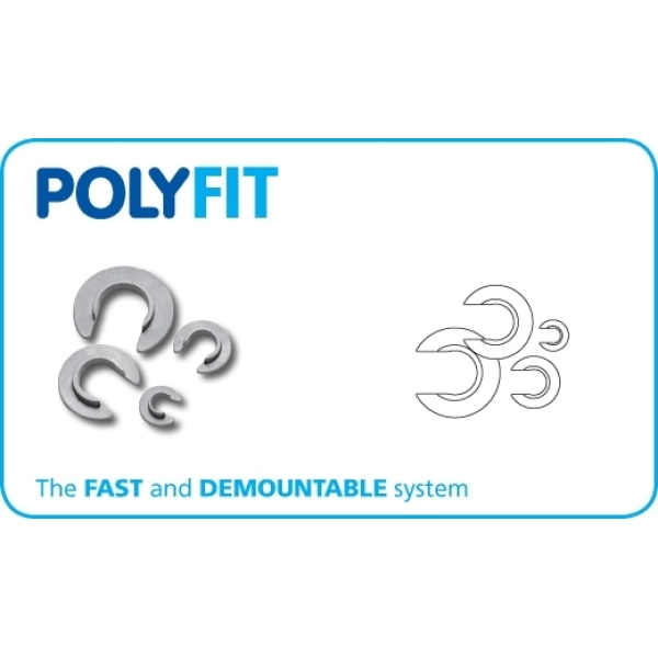 Polyfit Fitting Release Aid  Set of 4